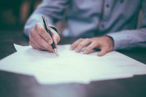 Шепоток перед подписанием контракта