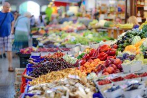Шепоток на продажу овощей, фруктов и ягод